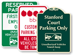 Custom Tow-Away Signs