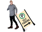 Self Park Signs