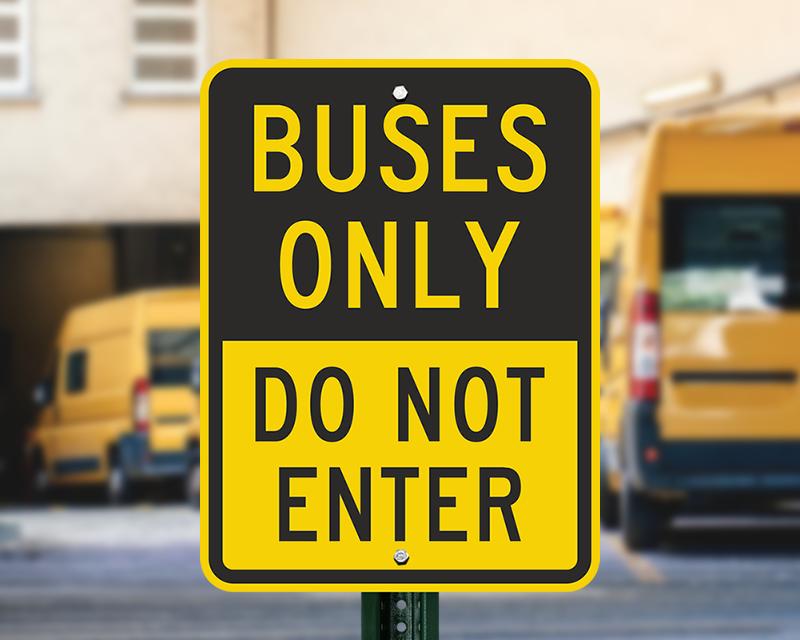 school bus signs school bus stop signs amp school bus area