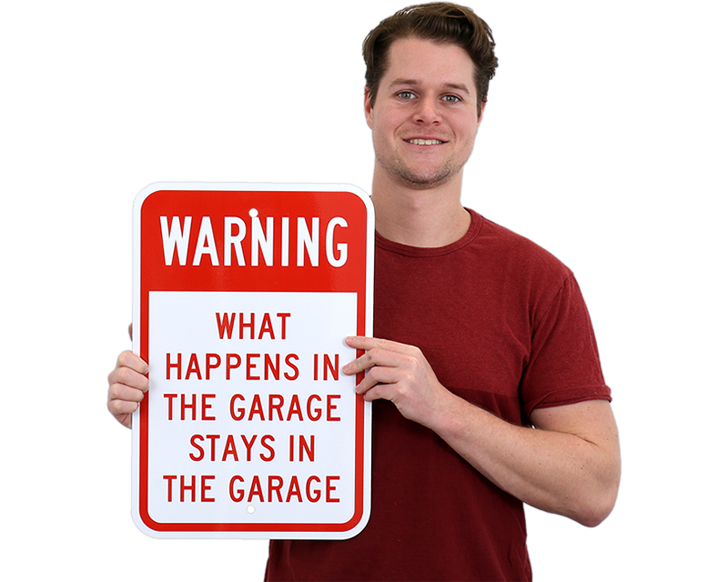 Funny Garage Signs : Funny garage signs man cave humorous