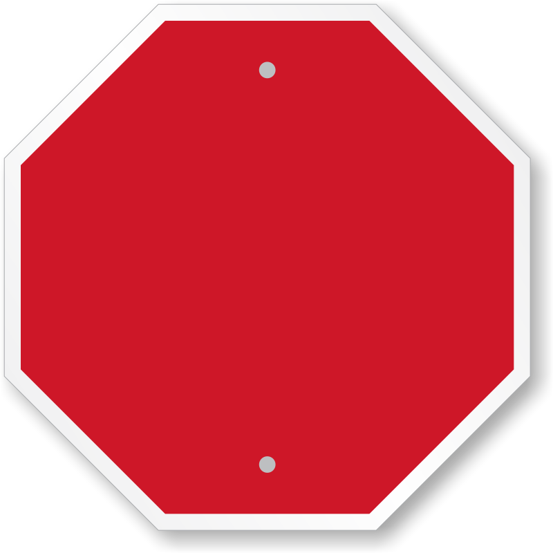 File:Blank stop sign octagon.svg - Wikimedia Commons |Stop Sign Writing