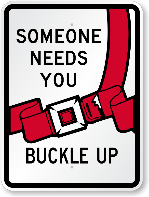 Buckle Safety Buckle-up-seat-belt-safety