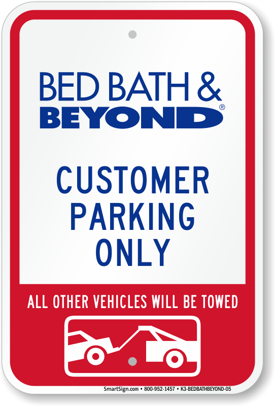 Others Bed Bath And Beyond Bathroom Scales For Use In The: Bed Bath & Beyond Parking Signs