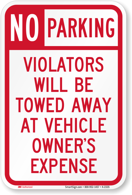 Hawaii Parking Signs Fire Lane Signs And Other Regulated