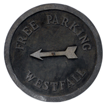 1910 Parking Signs