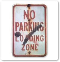 1980 Parking Signs
