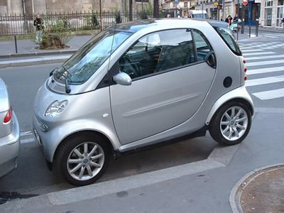 Smart Car bad parking job