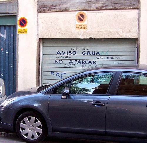 madrid parking