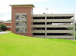 Parking garage on Culbreth Road