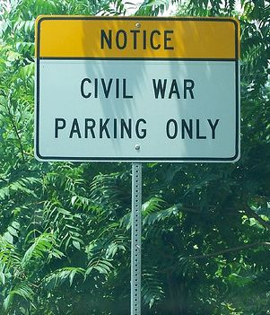 Civil War Parking Only