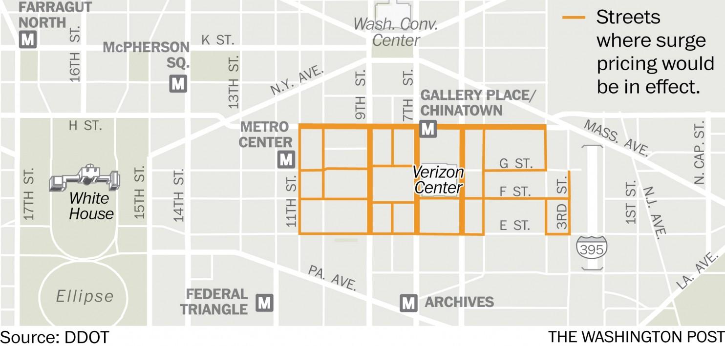 Park DC map
