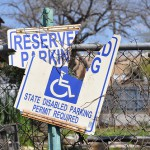 Can you still get a ticket if you don't see a handicap parking sign?