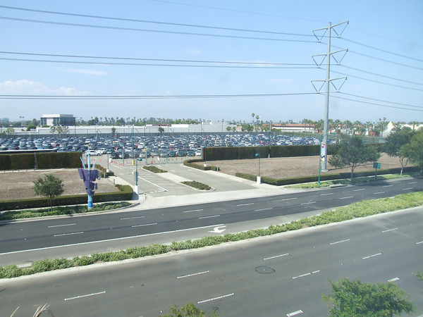 disneyland parking lot