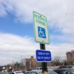 Accessible parking sign guerrillas strike Brooklyn