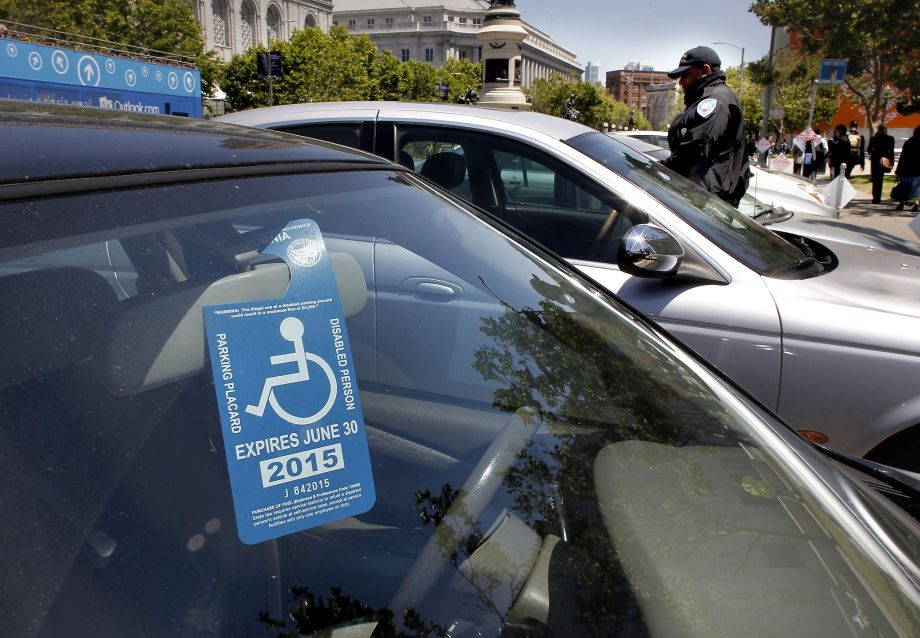 Accessible parking in SF