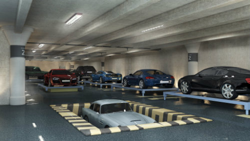A Robotic Parking Garage Adds Even Greater Curb Appeal To Luxury