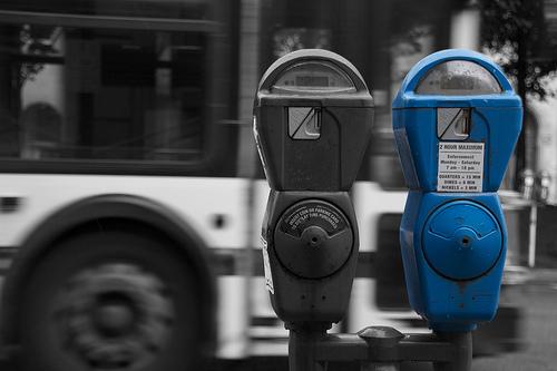 Parking meter in Detroit