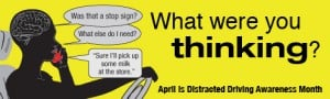 The National Safety Council has a vault of Distracted Driving Awareness Month resources worth checking out (via National Safety Council).