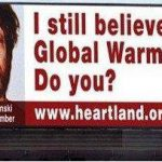 Killer Billboard Campaign Dies Young: Global Warming Denial in the Hot Seat
