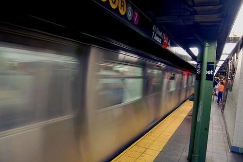 MTA subway car