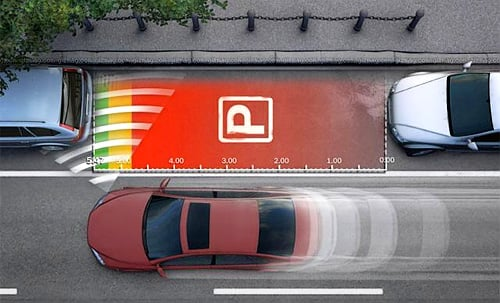 Automatic Parallel Parking demonstration