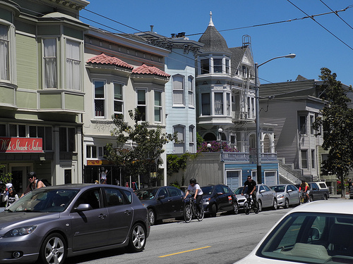 San Francisco busy street