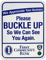 Please buckle up so we can see you again