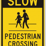 Pedestrian Crossing Signs Throughout History