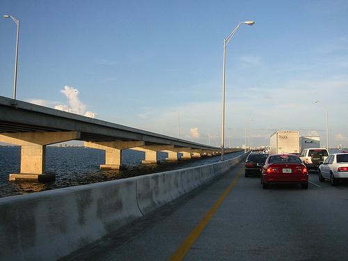 Bridge across Tampa Bay