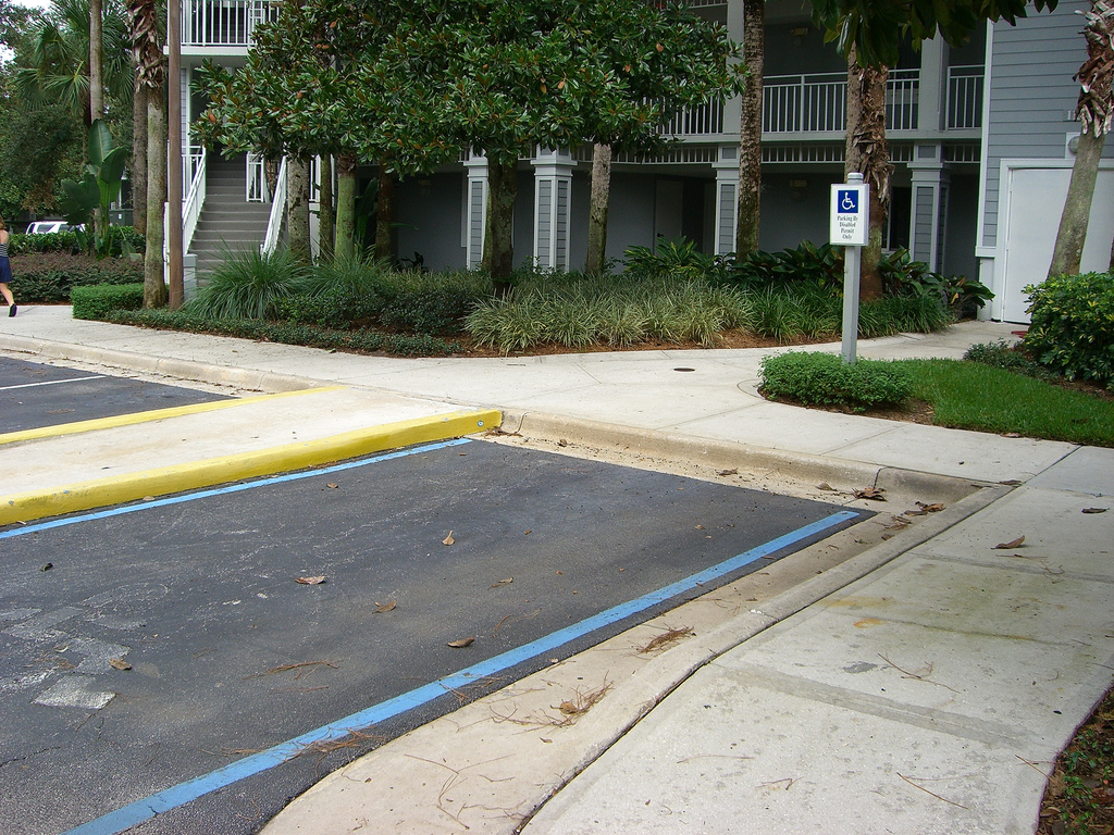 The ADA, FHA, and apartment buildings: your disabled parking rights
