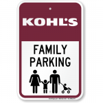 Brand your store's parking lot!