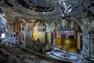 Auditorium screen at Michigan Theater Detriot new photo