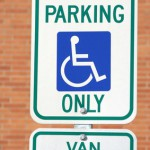 Parking Sign printed using 3M authorized inks and films