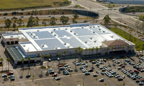 walmart solar power parking