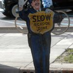 In school zones, sign saturation isn't a problem, according to study