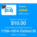 MonkeyParking: app auctions off parking options