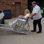 Wheelchair ramps: what length is right for disabled parking?