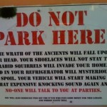 22 Funniest Parking Signs of All Time