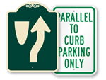 Curb Parking Signs