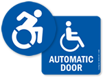 Handicap Access Labels