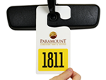 Large Numbered Parking Permits