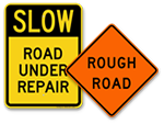 Road Condition Sign
