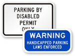 Van Accessible Signs