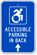 Disabled Sign With NY-Approved ISA Symbol