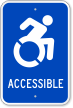 Accessible Icon Sign
