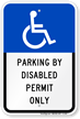 Florida ADA Handicapped Sign