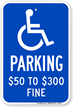 Missouri ADA Handicapped Sign