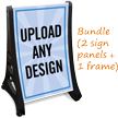 BigBoss Portable Custom Sidewalk Sign
