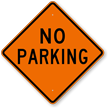 Diamond Parking Sign