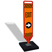 FlexPaddle Portable Exit Right Arrow Paddle Portable